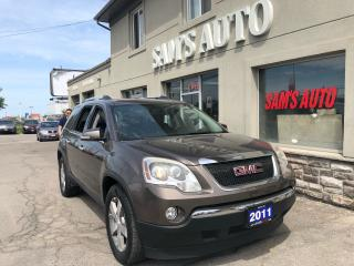 Used 2011 GMC Acadia SLT1 AWD REAR CAM for sale in Hamilton, ON