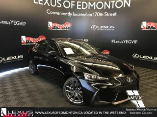 New 2018 Lexus IS 350 F Sport Series 2 for sale in Edmonton, AB