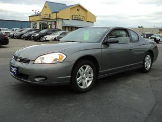 Used 2007 Chevrolet Monte Carlo LT for sale in Brantford, ON