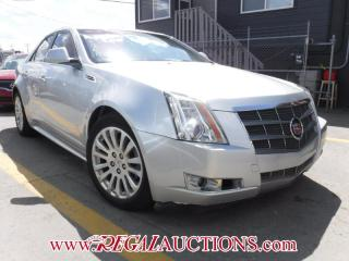 Used 2010 Cadillac CTS-4 BASE 4D SEDAN 3.6L for sale in Calgary, AB
