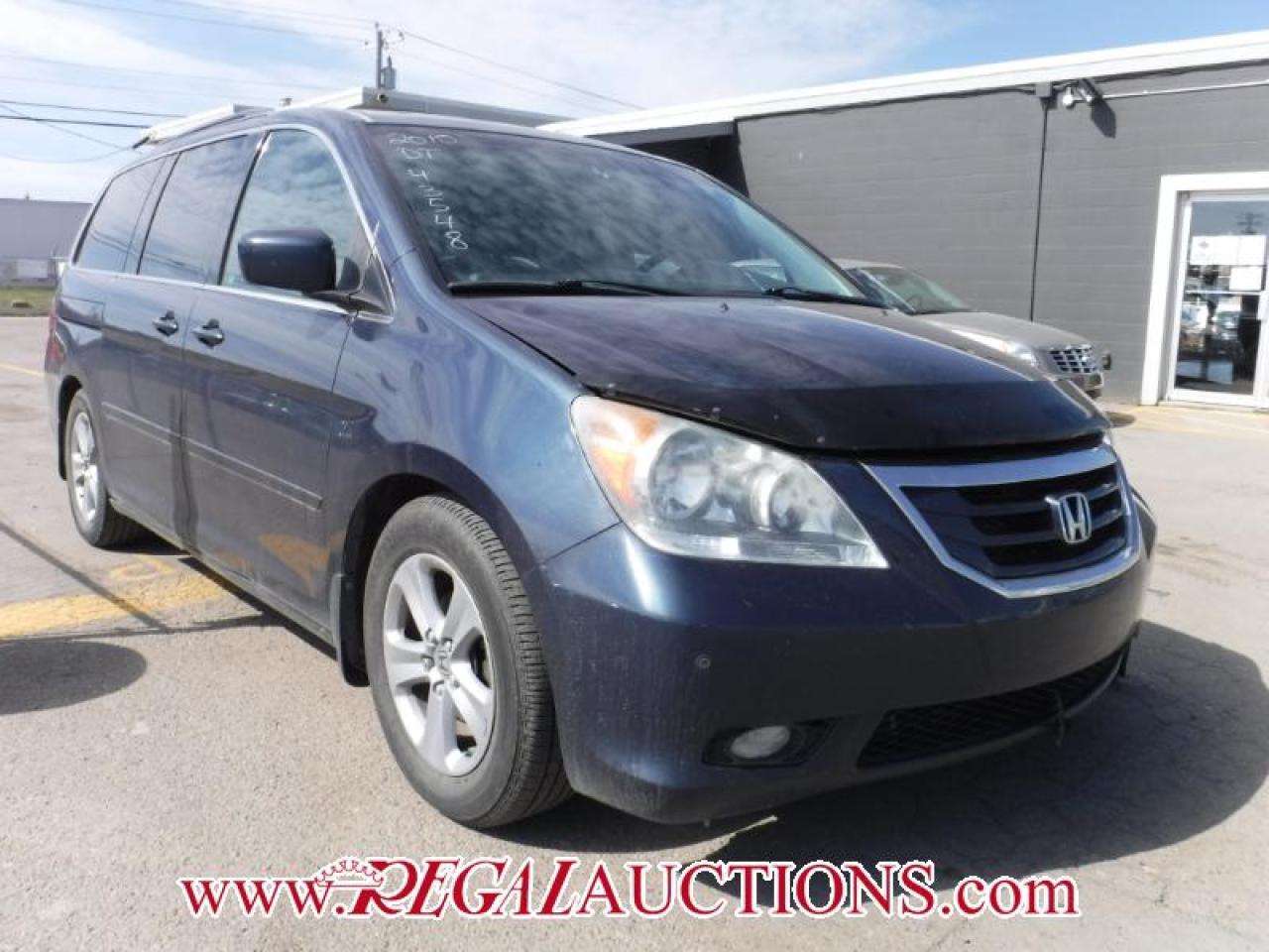2010 Honda Odyssey Touring Wagon