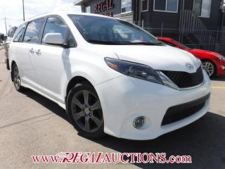 Used 2015 Toyota SIENNA SE 4D WAGON 8 PASS for sale in Calgary, AB