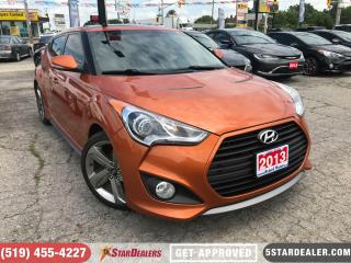 Used 2013 Hyundai Veloster Turbo | NAV | CAM | LEATHER | PANO ROOF for sale in London, ON