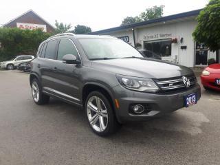 Used 2013 Volkswagen Tiguan RLINE for sale in Waterdown, ON