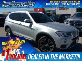 Used 2017 BMW X3 X3/XDRIVE28I/AWD/NAV/SUN/LEATHER/CAM/NO ACCIDENTS for sale in Milton, ON
