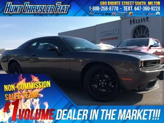 Used 2017 Dodge Challenger SXT/TECH/BLKTOP/DR CONV/SOUND II/SUN/8.4 & MORE!!! for sale in Milton, ON