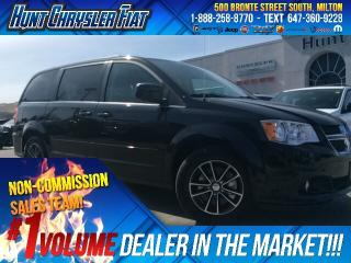 Used 2017 Dodge Grand Caravan SXT PREM PLUS/BT/SUEDE/STOW & MORE!!! for sale in Milton, ON