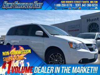 Used 2017 Dodge Grand Caravan SXT PREM PLUS/BT/DVD/2ND ROW POWER WINDOWS & MORE! for sale in Milton, ON