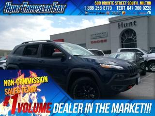 Used 2018 Jeep Cherokee TRAILHAWK/4X4/BLACKOUT/HTD SEATS & MORE!!! for sale in Milton, ON