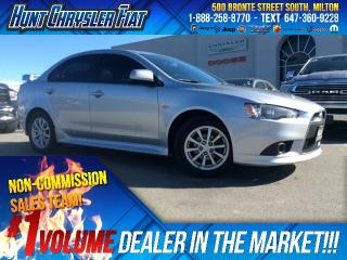 Used 2012 Mitsubishi Lancer SE/AUTO/SUNROOF/LEATHER/ALLOYS & MORE!!! for sale in Milton, ON