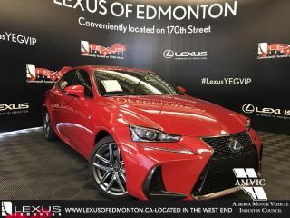 New 2018 Lexus IS 350 F Sport Series 3 for sale in Edmonton, AB