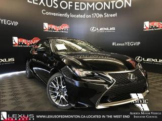 New 2018 Lexus RC 350 F Sport Series 2 for sale in Edmonton, AB