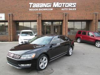 Used 2012 Volkswagen Passat HIGHLINE | LEATHER | SUNROOF | REAR CAM | BT for sale in Mississauga, ON