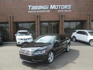 Used 2013 Volkswagen Passat COMFORTLINE | NO ACCIDENTS  | LEATHER | SUNROOF for sale in Mississauga, ON