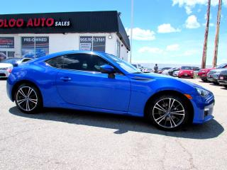 Used 2015 Subaru BRZ SPORT-TECH NAVIGATION 6 SPD MANUAL CERTIFIED WARRANTY for sale in Milton, ON
