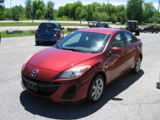 Used 2010 Mazda MAZDA3 GX  4DR   2.0L  ** GAS SAVER** for sale in Smiths Falls, ON
