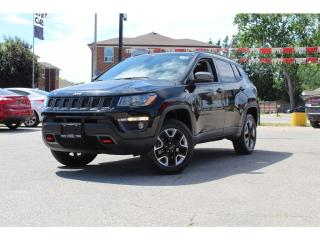 Used 2017 Jeep Compass Trailhawk*PANO ROOF*Leather*NAV*CAM*ULTRA CLEAN for sale in Mississauga, ON