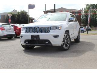 Used 2017 Jeep Grand Cherokee Overland*EVERY OPTION*STILL SMELLS NEW*MINT for sale in Mississauga, ON