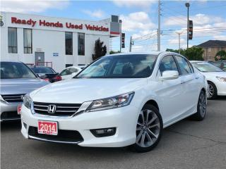 Used 2014 Honda Accord Sedan Sport - Rear Camera - Michelin Tires for sale in Mississauga, ON