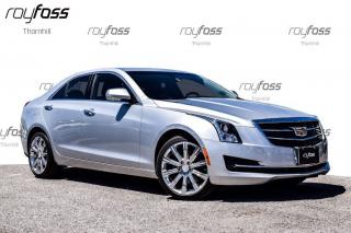 Used 2015 Cadillac ATS Luxury AWD Nav Roof 18 Whls for sale in Thornhill, ON
