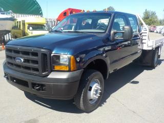 Used 2006 Ford F-350 SD XL Crew Cab 4WD Dually Flat Deck for sale in Burnaby, BC