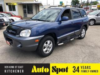 Used 2006 Hyundai Santa Fe GL/WELL SERVICED !/PRICED - QUICK SALE ! for sale in Kitchener, ON