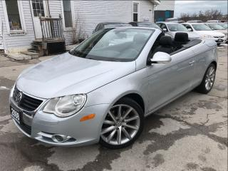 Used 2008 Volkswagen Eos 2.0T|Convertible|Leather|Sunroof|Bluetooth| for sale in Burlington, ON