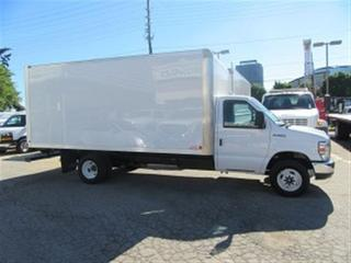 Used 2017 Ford E450 16 FT ALUMINUM BOX V /10 GAS CUBE VAN for sale in Richmond Hill, ON