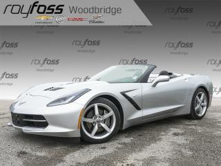 Used 2014 Chevrolet Corvette StingRay 3LT, BOSE, VENTED SEATS, NAV for sale in Woodbridge, ON