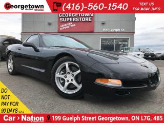 Used 2004 Chevrolet Corvette TARGA TOP | LEATHER | BOSE | VERY CLEAN | for sale in Georgetown, ON