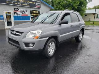 Used 2009 Kia Sportage 153k 4x4 Safetied we finance LX for sale in Madoc, ON