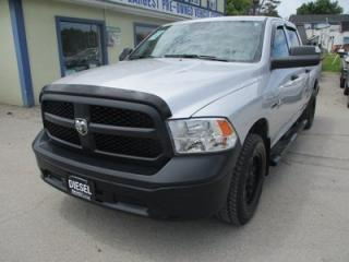 Used 2016 Dodge Ram 1500 'LIKE NEW' TRADESMEN EDITION 6 PASSENGER 3.0L - ECO-DIESEL.. 4X4.. CREW.. SHORTY.. AUX/USB INPUT.. BACK-UP CAMERA.. KEYLESS ENTRY.. for sale in Bradford, ON