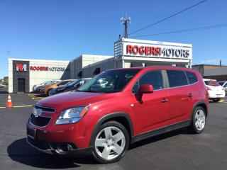 Used 2012 Chevrolet Orlando LTZ - 7 PASS - LEATHER - SUNROOF for sale in Oakville, ON