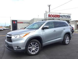 Used 2015 Toyota Highlander HYBRID XLE AWD - 8 PASS - NAVI - LEATHER - SUNROOF for sale in Oakville, ON