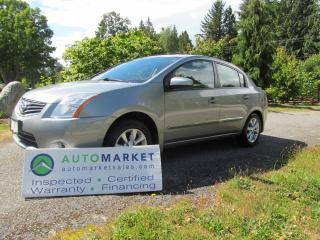 Used 2011 Nissan Sentra SL, AUTO, NAVI, LEATHER, MOONROOF, INSP, FREE WARRANTY for sale in Surrey, BC