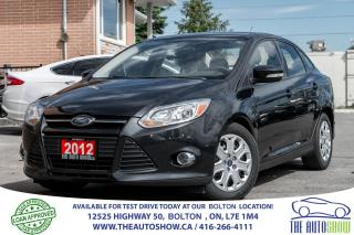 Used 2012 Ford Focus SE 4DR 5SPD 1 OWNER ACCIDENT FREE TIRES + BRAKES for sale in Caledon, ON