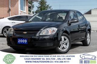 Used 2009 Chevrolet Cobalt LT w/1SA 5SPD 4DR 1 OWNER GM SERVICED for sale in Caledon, ON