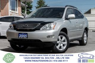 Used 2005 Lexus RX 330 RX 330 AWD PREMIUM PKG. ACCIDENT FREE NEW TIRES for sale in Caledon, ON