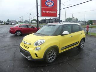 Used 2014 Fiat 500 L Trekking for sale in Pintendre, QC