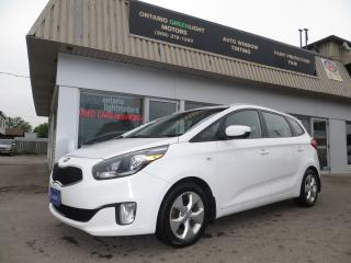 Used 2014 Kia Rondo AUTOMATIC,BLUETOOTH,ALLOYS,HEATED SEATS,ALL POWER for sale in Mississauga, ON