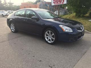 Used 2008 Nissan Maxima SE,NO ACCIDENT,168K,SAFETY+3YEARS WARANTY INCLUDED for sale in North York, ON