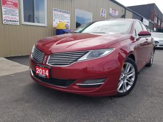 Used 2014 Lincoln MKZ REMOTE START-LEATHER-HEATED SEATS-TOUCH SCREEN for sale in Tilbury, ON