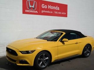 Used 2017 Ford Mustang CONVERTIBLE, MANUAL for sale in Edmonton, AB