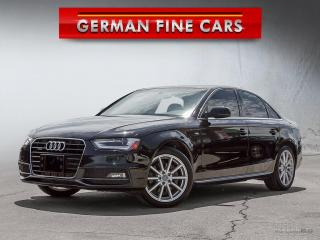 Used 2015 Audi A4 2.0T Progressive plus**SLINE, NAVIGATION** for sale in Caledon, ON