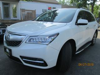 Used 2014 Acura MDX Tech pkg for sale in Scarborough, ON