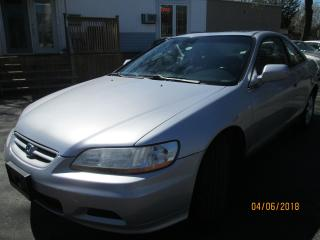 Used 2002 Honda Accord SE-SUPER CLEAN ONLY $4888.00 for sale in Scarborough, ON