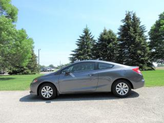Used 2012 Honda Civic LX COUPE for sale in Thornton, ON