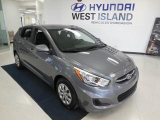 Used 2016 Hyundai Accent GL 1.6L à hayon, 5 portes, automatique for sale in Dorval, QC
