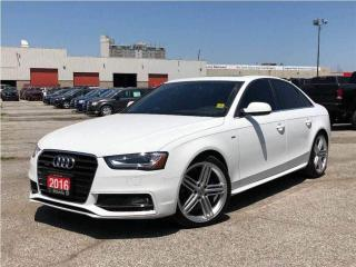Used 2016 Audi A4 2.0T**AWD**Leather**NAV**Sunroof**Back UP CAM** for sale in Mississauga, ON