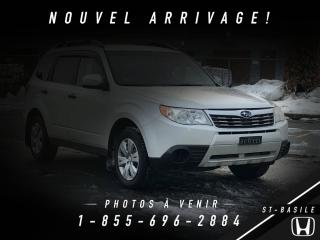 Used 2009 Subaru Forester 2.5X + A/C + CRUISE + IMPECCABLE !!! for sale in St-Basile-le-Grand, QC